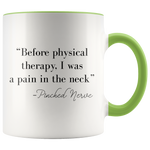 Load image into Gallery viewer, Physical therapy mug accent