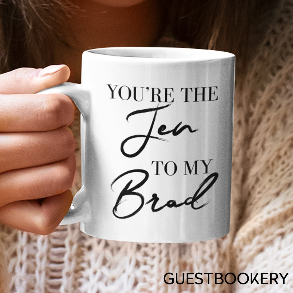 You're the Jen to My Brad - Guestbookery