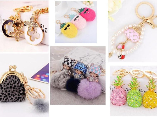 Beyond the Bag Bug: 7 Adorable Bag Key Charms to Adorn Your Accessories