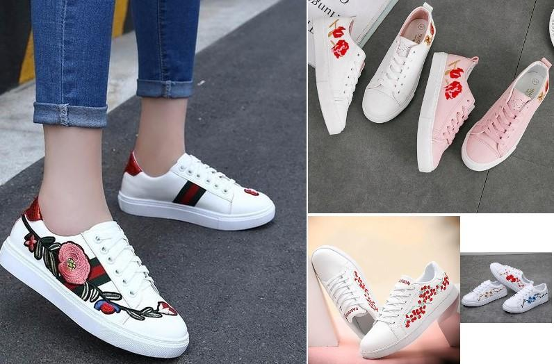 Hand Embroidered Shoes with TC5