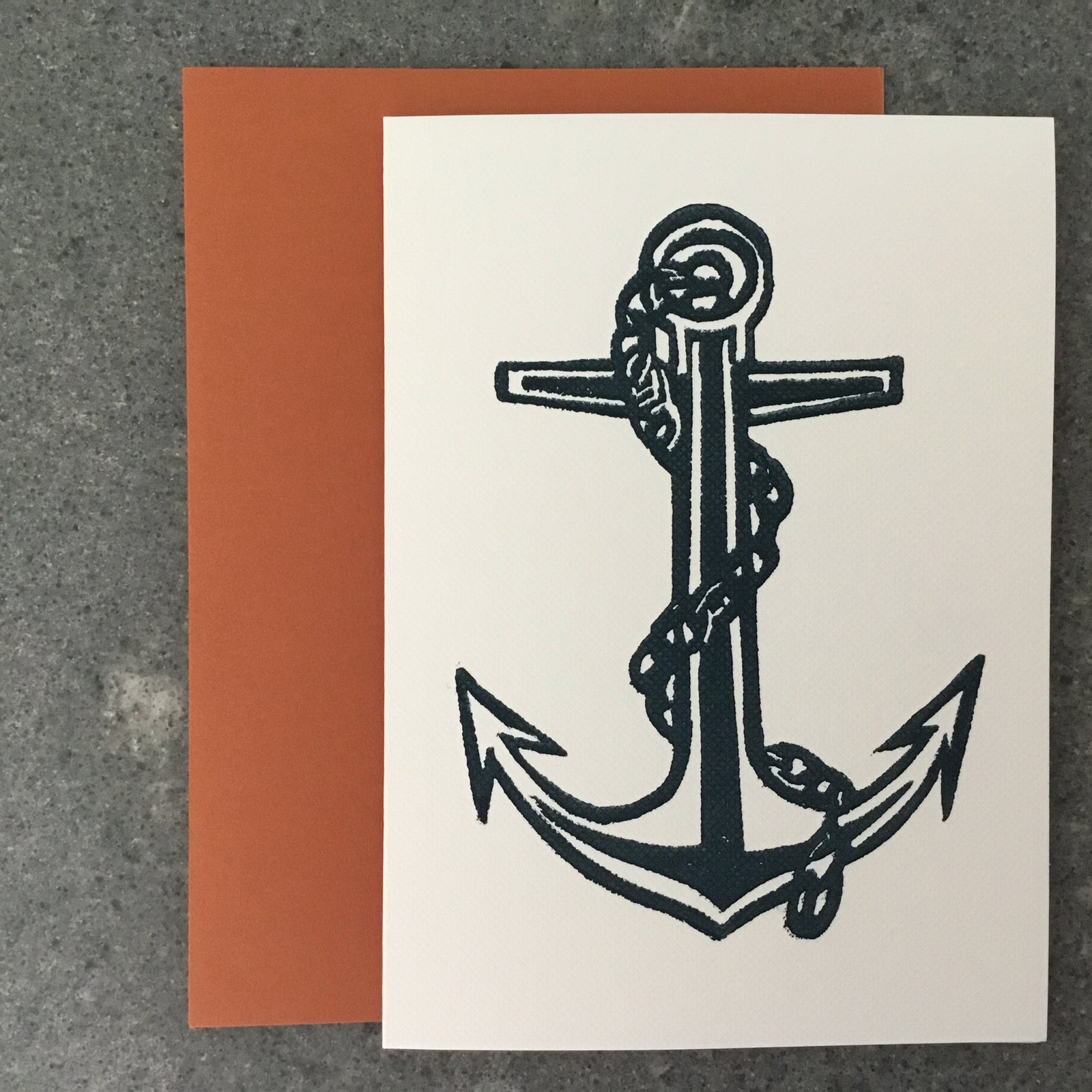 ANCHOR Folded Card