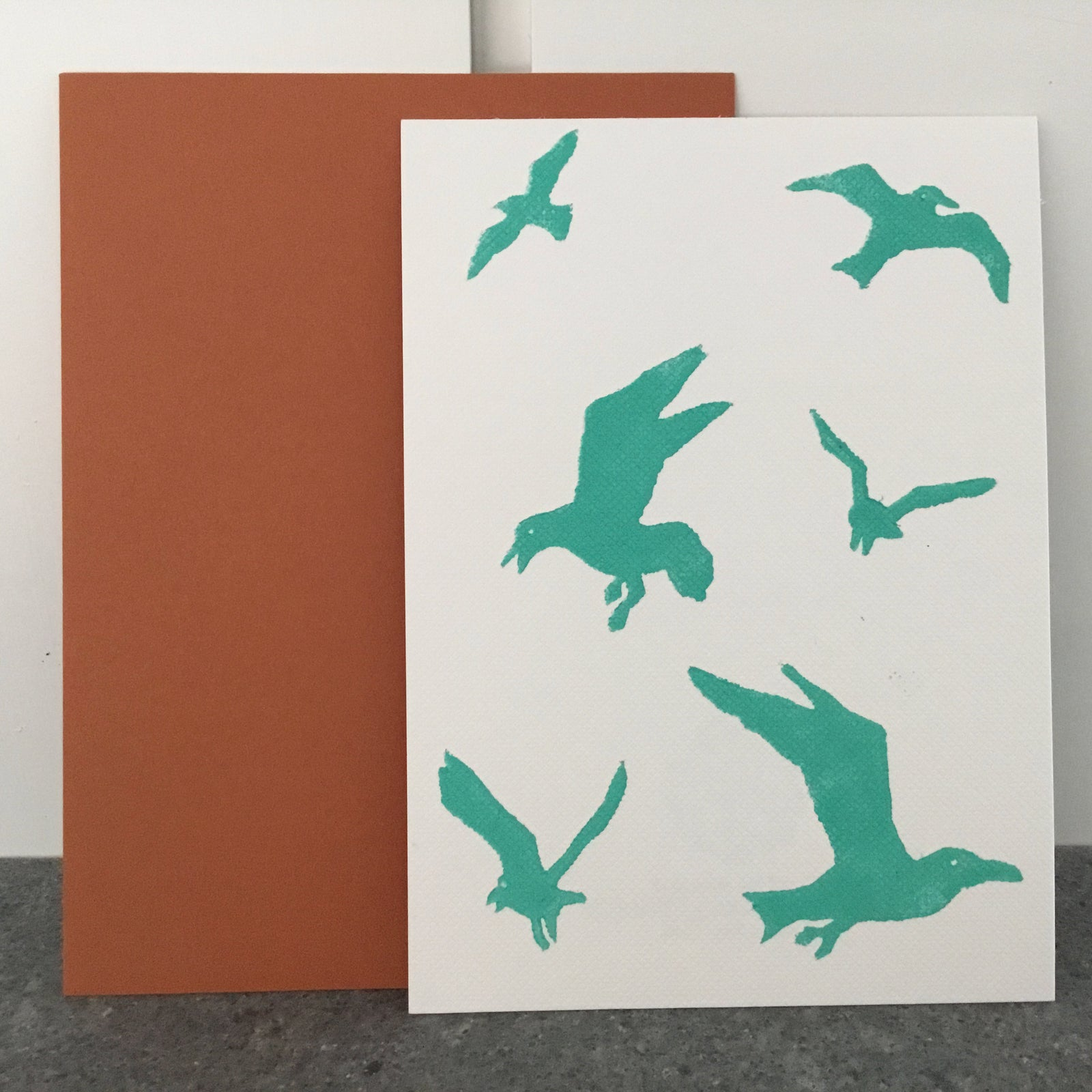 GULLS Folded Card