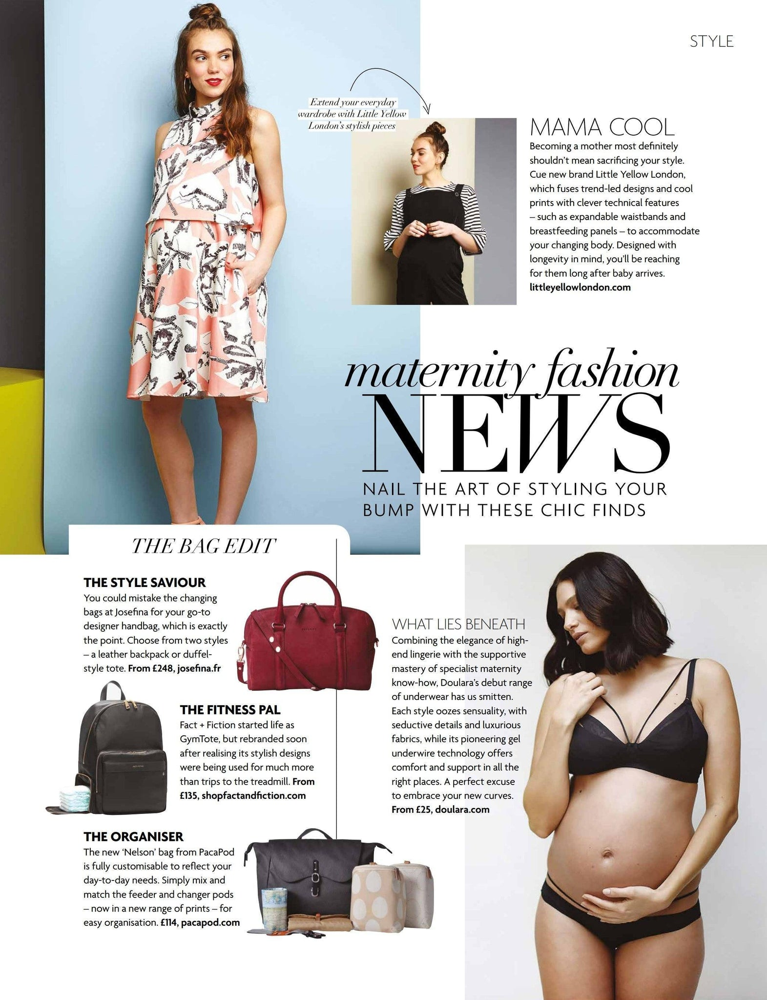 New Nelson Features in Baby London Magazine