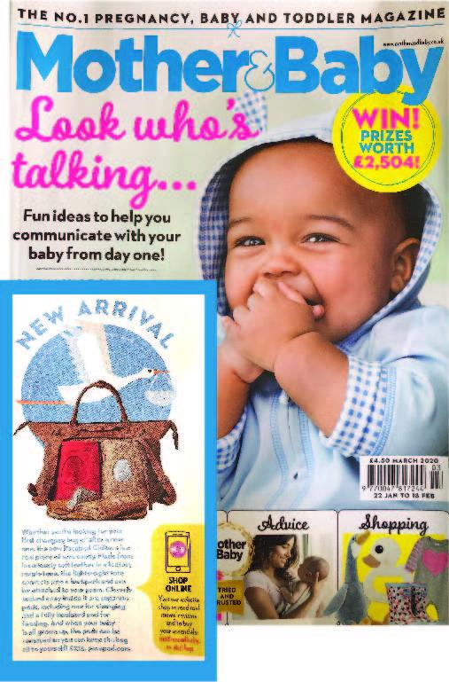 Chiltern as seen in Mother and Baby Magazine March 2020