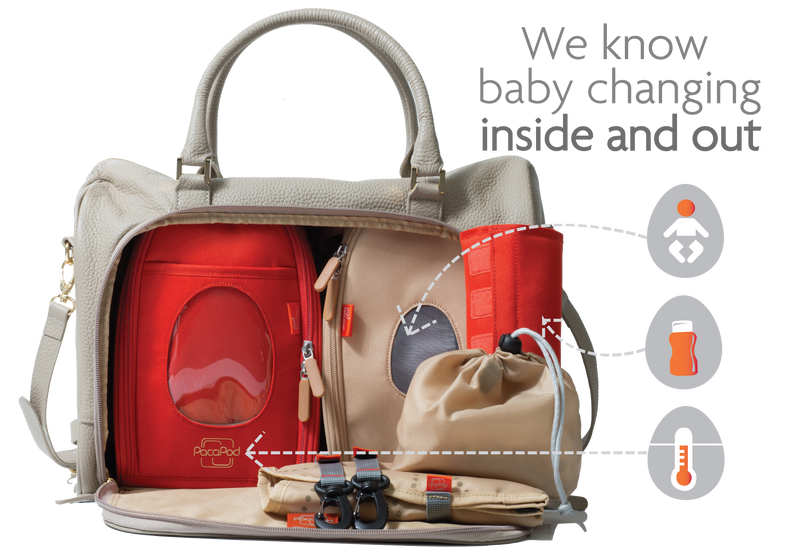 2a62a046aea3 PacaPod – 3 in 1 Baby Changing Bags - Changing Bags