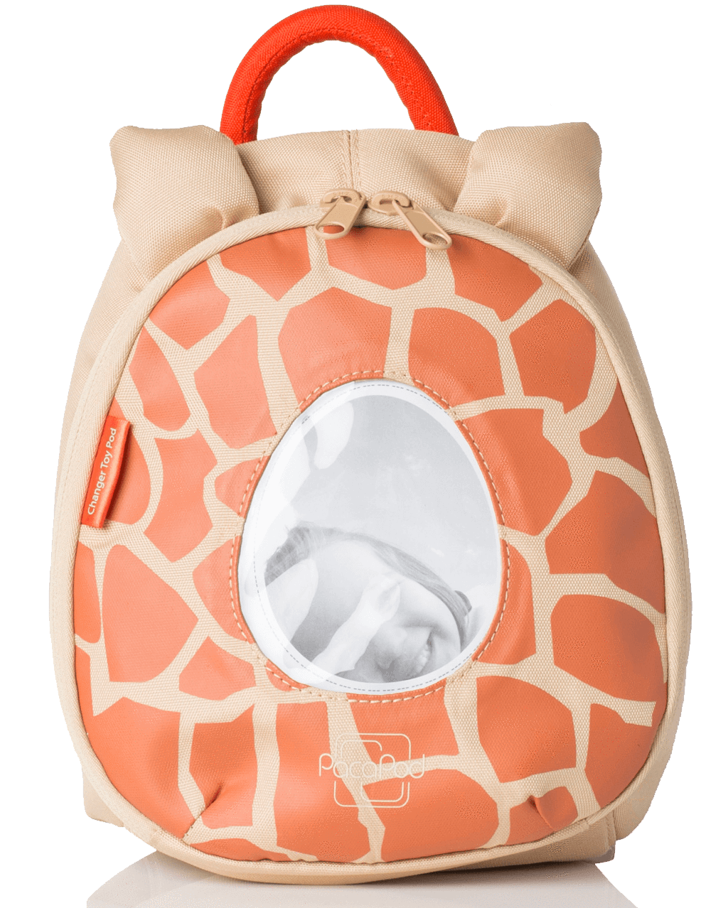 Changer Toy Pod - giraffe flame