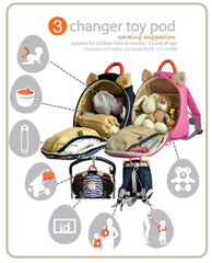 Changer Toy Pod - leopard red