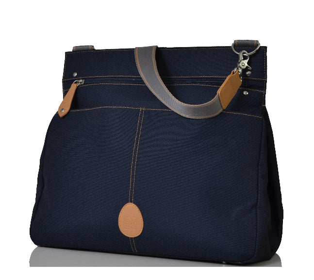 03dacee50d PacaPod Oban Navy Messenger Baby Changing Bag - Backpack Changing Bags