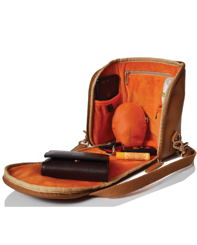 Freedom Pod Leather - tan - PacaPod