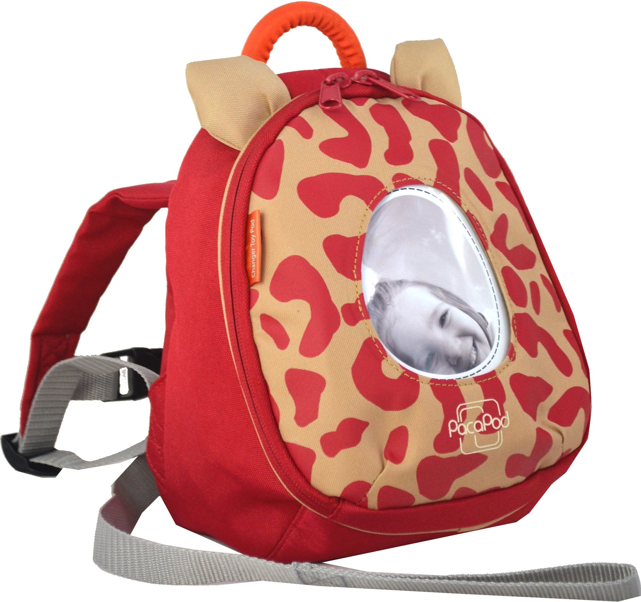 Changer Toy Pod - leopard red - PacaPod