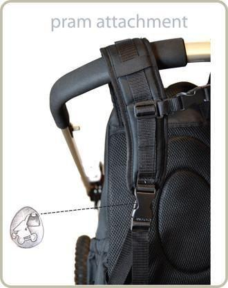 Picos Pack - black charcoal - PacaPod