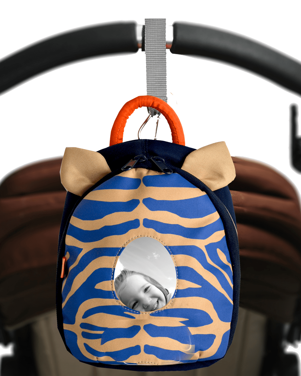 Changer Toy Pod - zebra navy - PacaPod
