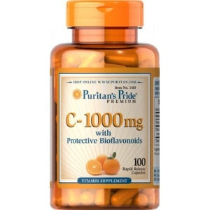 VITAMINA C 1000 MG CÁPSULAS PURITANS
