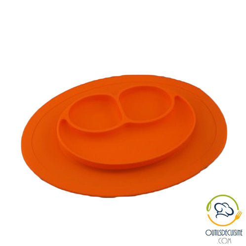 Smiley Silicone Plate Test for Little Boys!