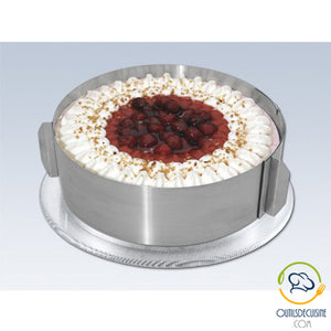Video Presentation of Stainless Steel Adjustable Cake Circle Mold