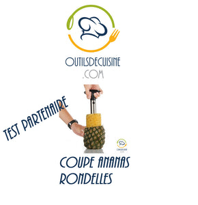 Mamcoeur has tested for you the Pineapple Cup Rondelles
