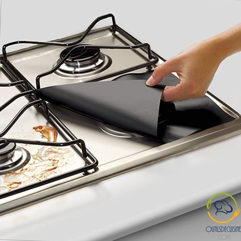 4 Reusable Protective Sheets For Gas Stove