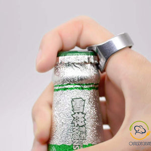 Ring / Ring Stainless Steel Bottle Opener