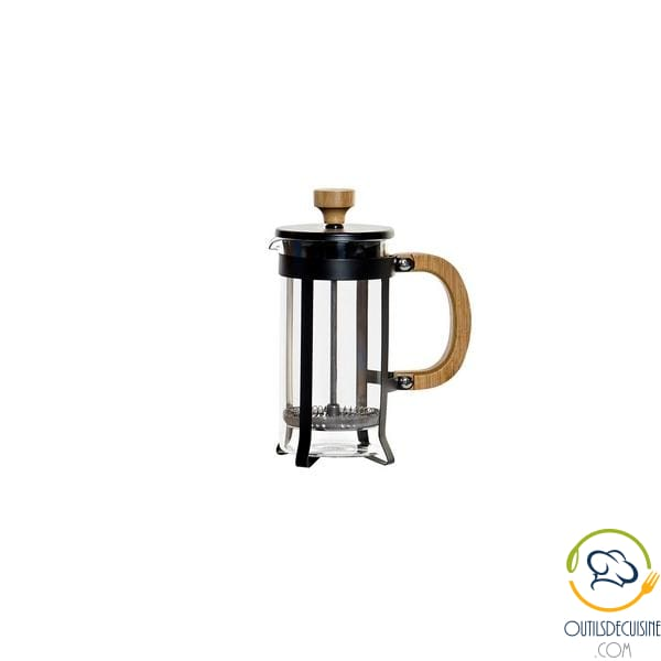 Coffee Maker Dkd Home Decor Bamboo Stainless Steel (13 X 7 17 Cm) Coffee Maker
