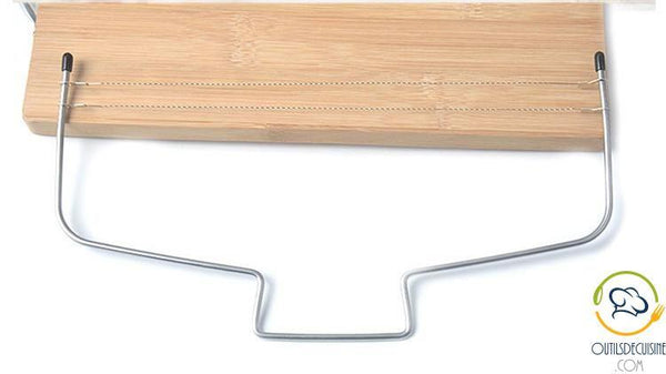 Genoese Cake Cutter with Stainless Steel Wire - Pastry Accessory
