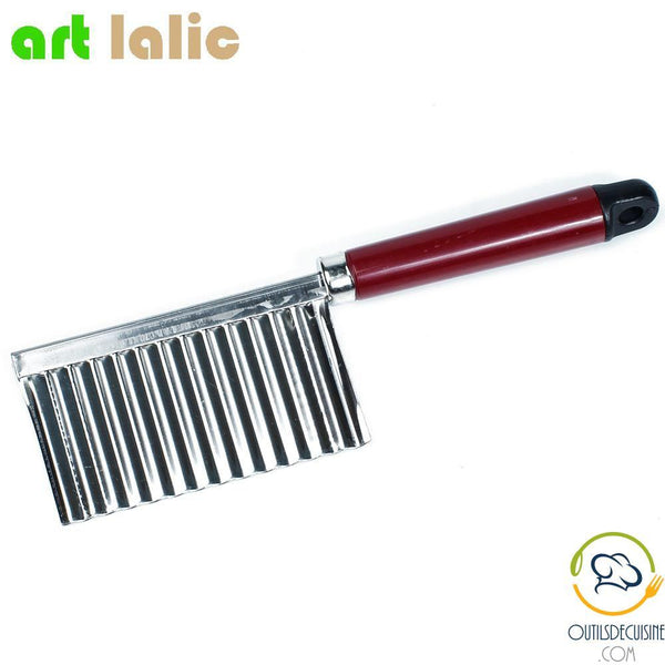 Stainless Steel Vegetable Cutter - Corrugated Blade
