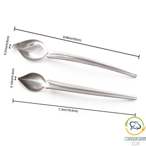 Inox Spoon Spoon To Decorate Your Plates As A Chef