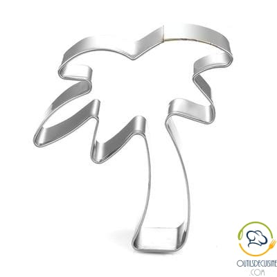Pineapple and Palm Palm Flamingo Pastry Cutters