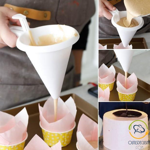 Funnel Dough Dispenser Or Cake Cream