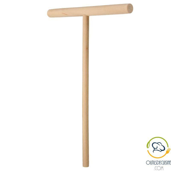 Wooden Pancake Dough Spreader