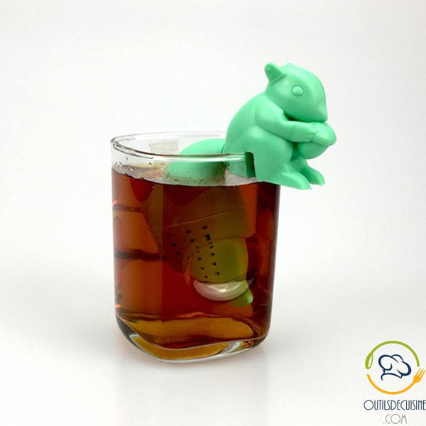 Silicone Squirrel Tea Infuser