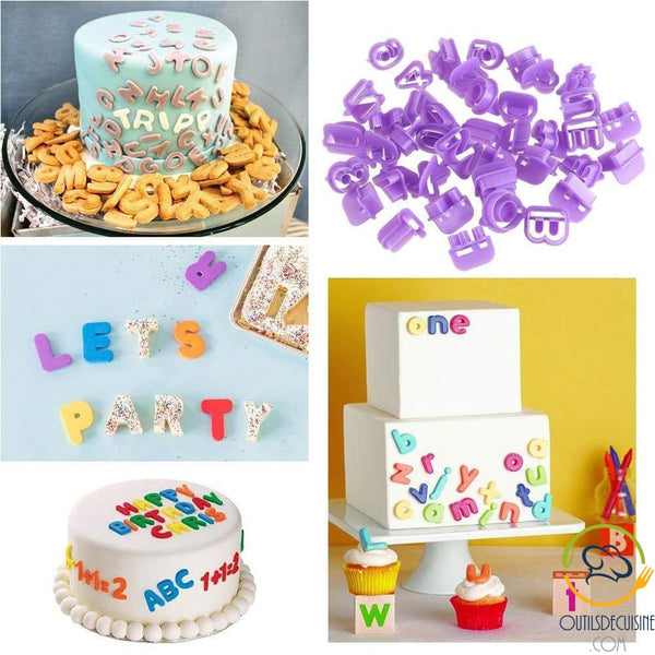 Sugar Paste Decoration Kit - 111 Pces