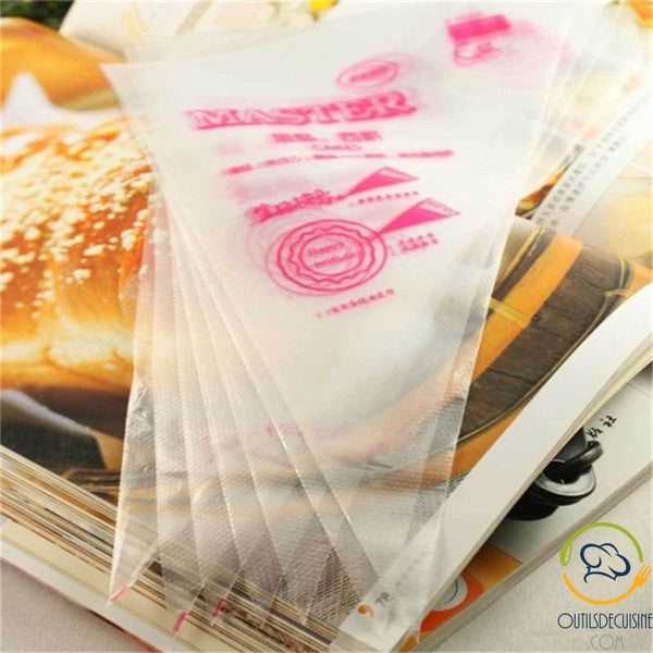 100 Lot Parts Disposable Sleeve Bag