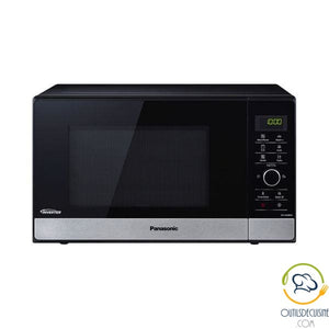 Microwave With Grill Panasonic Corp. Nngd38Hssug 23 L 1000W Black Stainless Steel Microwave Oven