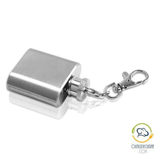 Mini Stainless Steel Bottle - Alcohol Flask