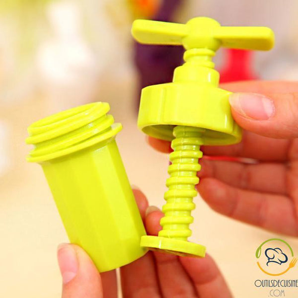 Mini Garlic Press Plastic