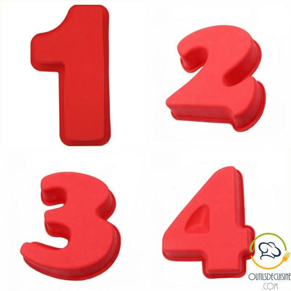 Figures Cake Mold - Number Cake