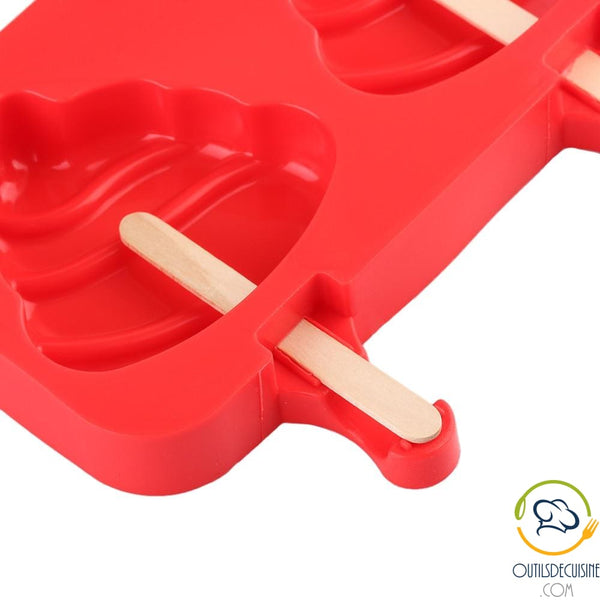 Silicone Ice Mold With 20 Sticks