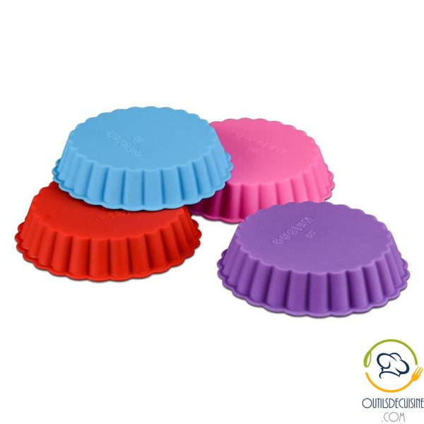 Silicone Round Fluted Tart Mold