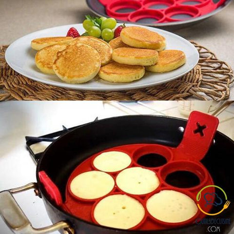 Mold - Pancake Maker - Make 7 Pancakes One Shot!