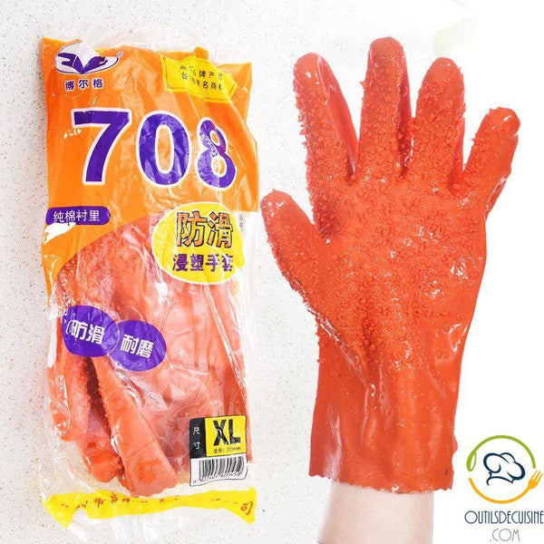 Pair Of Magic Peeling Gloves