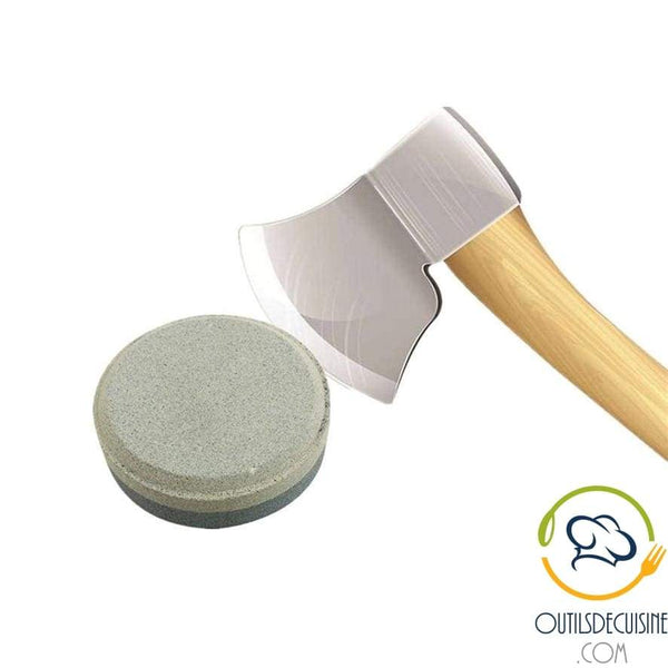 Circular Sharpening Stone 40 Double Grain