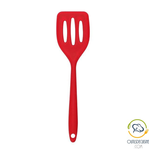 Red Silicone Kitchen Spatula