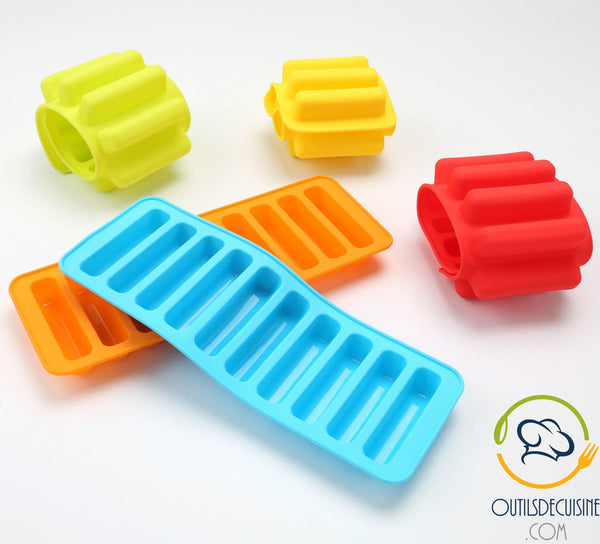 Silicone Tray 10 Ice Cubes In Sticks