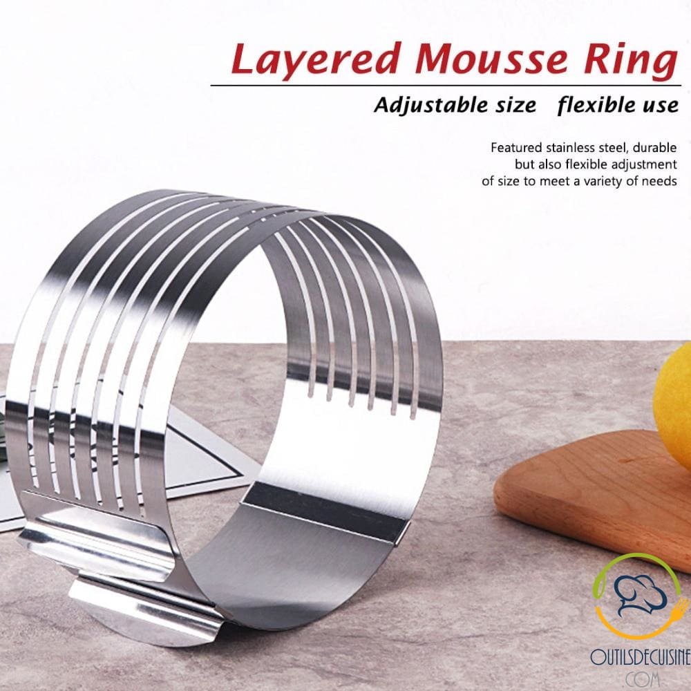 Adjustable Génoise Slicer - Layer Cakes