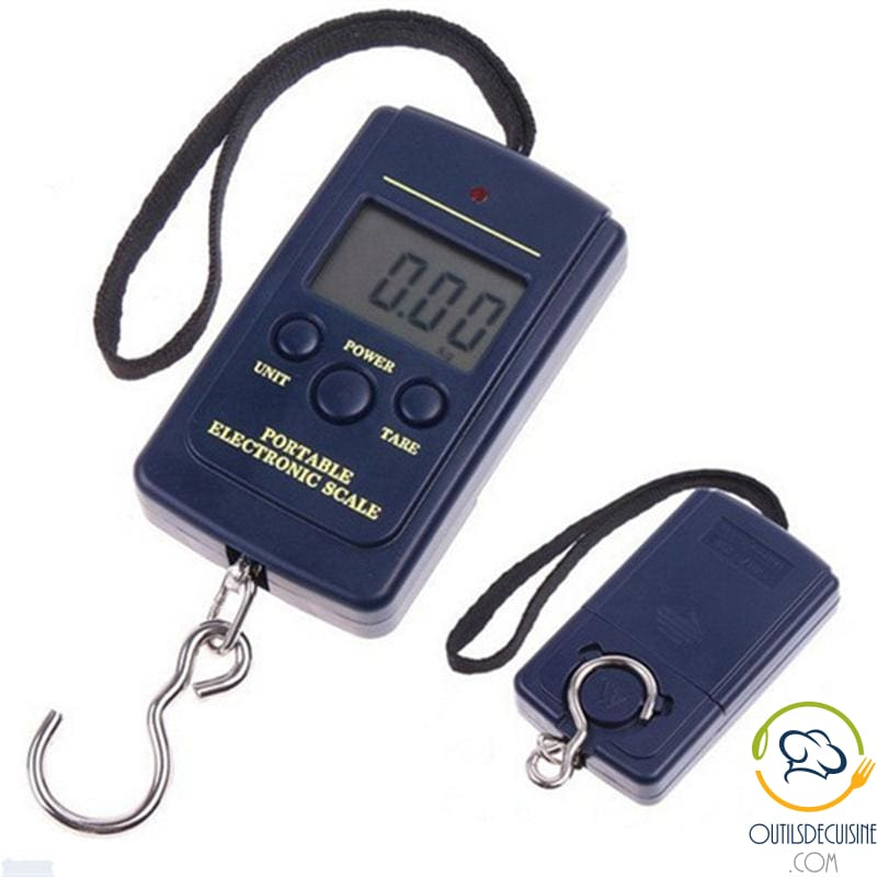 Portable and Electronic Kitchen Scale