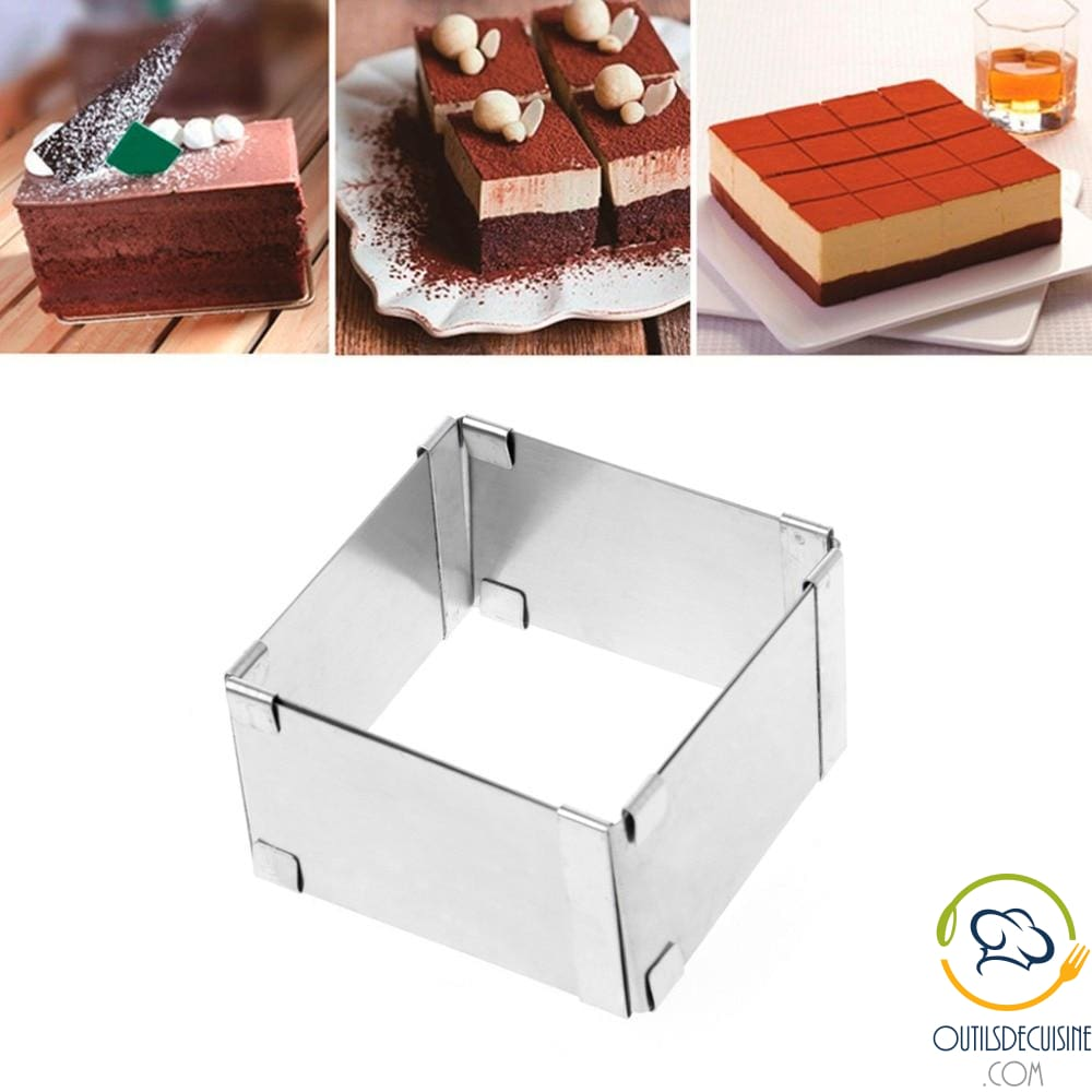 Adjustable Square Cake Mold