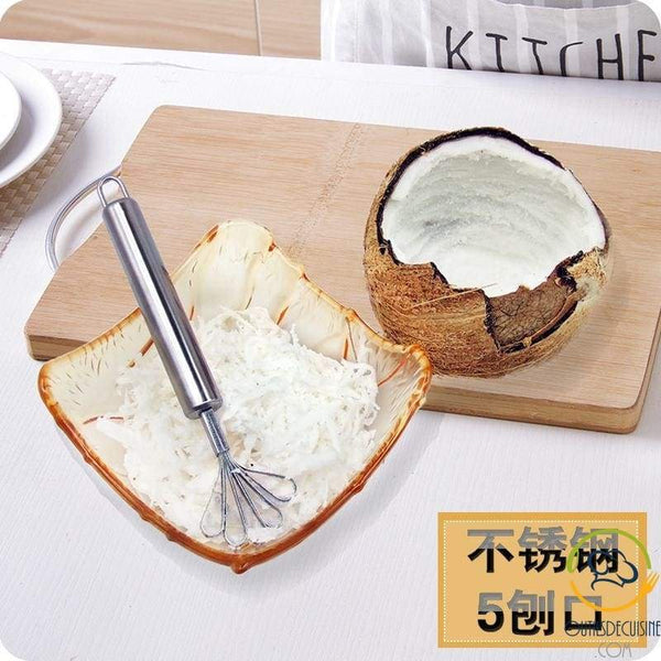 Stainless Steel Coconut Grater