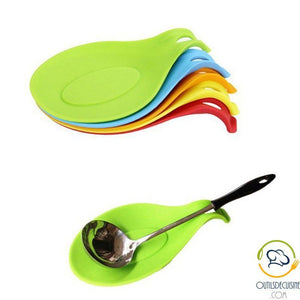 Very Resistant Silicone Spoon Rest