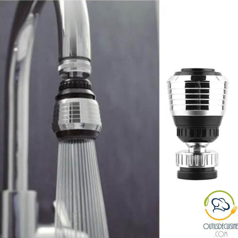 Kitchen Faucet 360 Rotating Head Obsturator Water Adapter - Faucet Tap