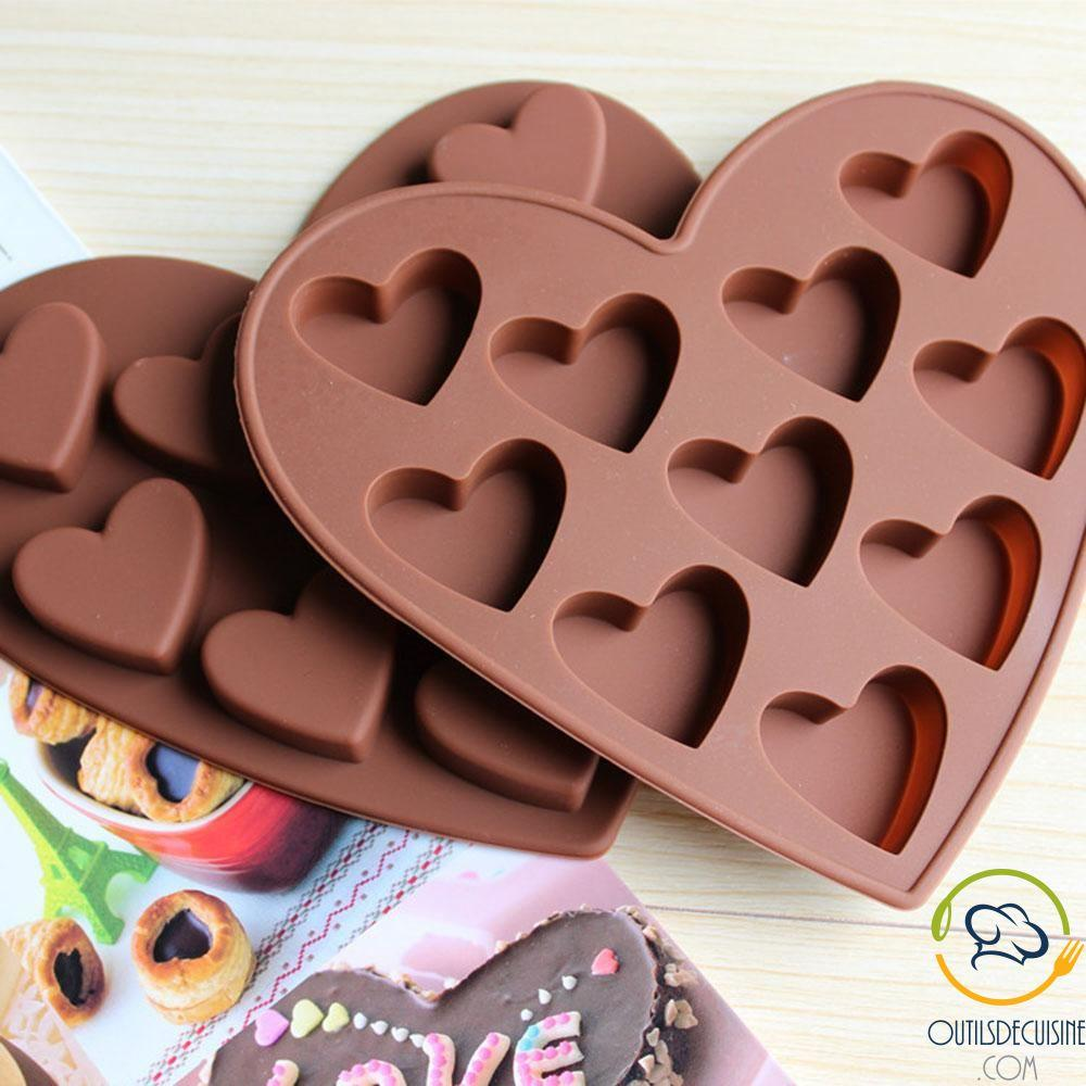 Heart Shaped Silicone Personalized Chocolate